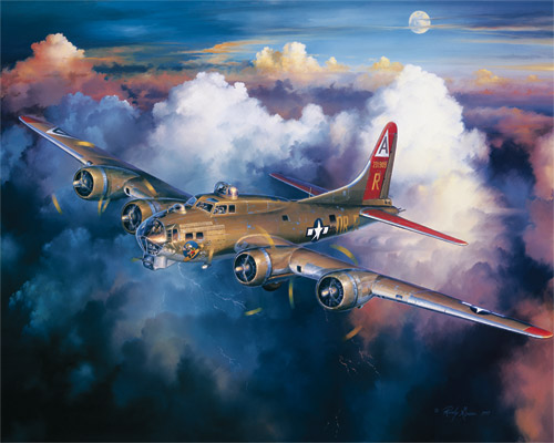B-17 Bomber Military Jigsaw Puzzle