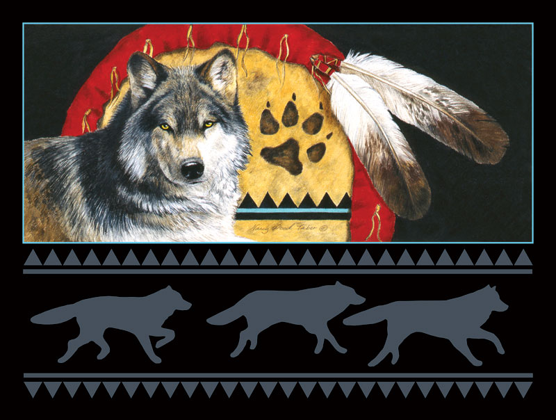 Pathfinder Wolves Jigsaw Puzzle