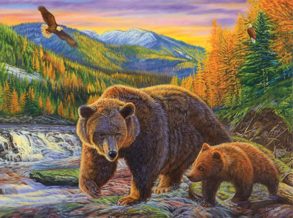 First Autumn Bears Jigsaw Puzzle