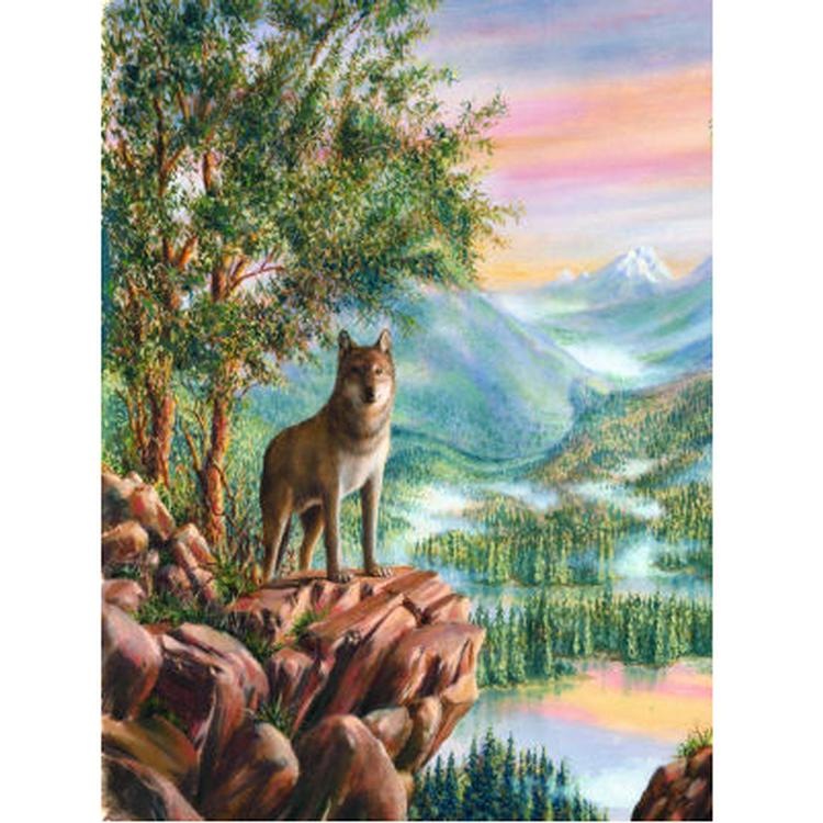 Wolf Grandeur Wolves Jigsaw Puzzle