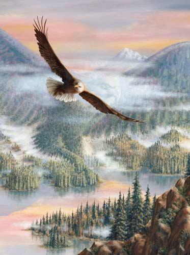 Eagle Grandeur Eagles Jigsaw Puzzle