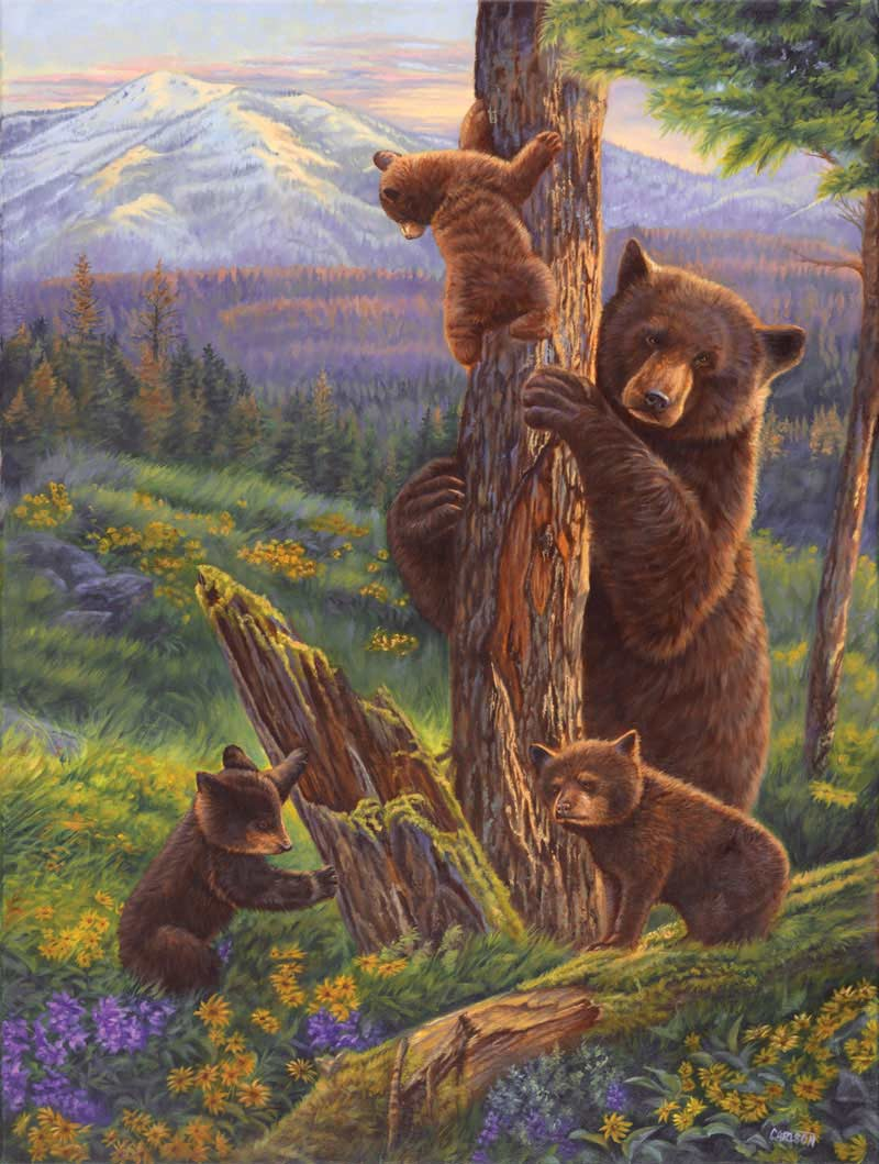 Fun with Mommy Bears Jigsaw Puzzle