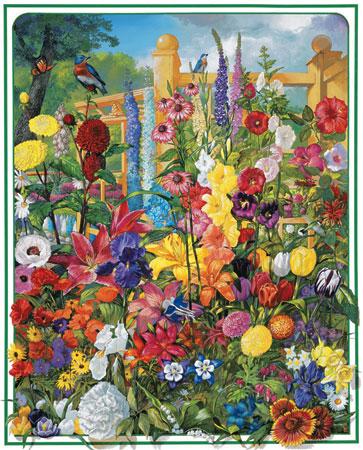 Perennials Flowers Jigsaw Puzzle