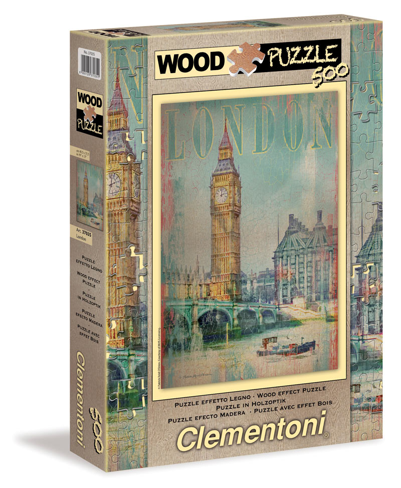 London Wood - Scratch and Dent Landmarks / Monuments Jigsaw Puzzle