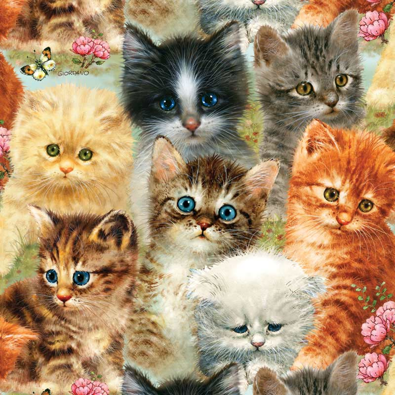 A Pile of Kittens Cats Jigsaw Puzzle