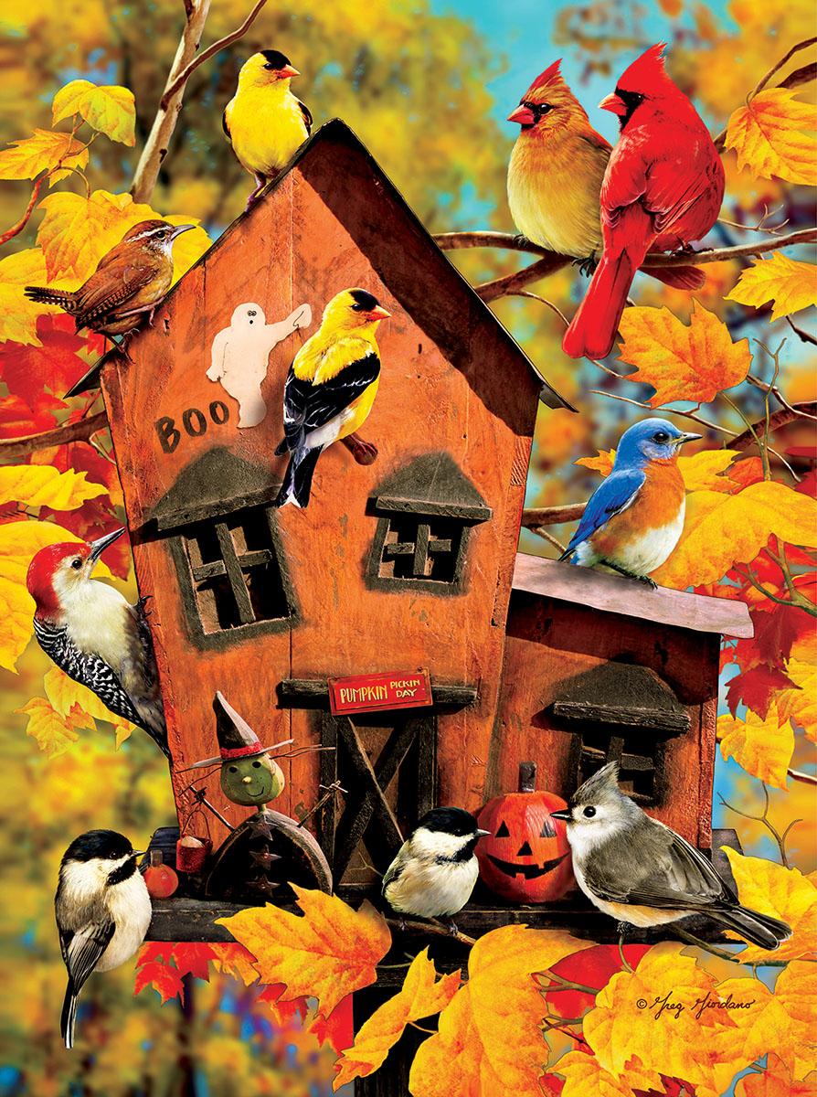 Fall Birds Birds Jigsaw Puzzle