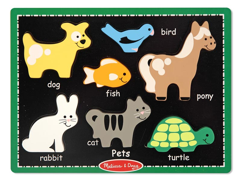 My First Chunky Puzzle - Pets Animals Jigsaw Puzzle
