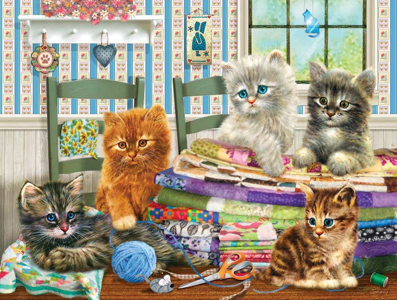 Let's Get Started - Scratch and Dent Crafts & Textile Arts Jigsaw Puzzle