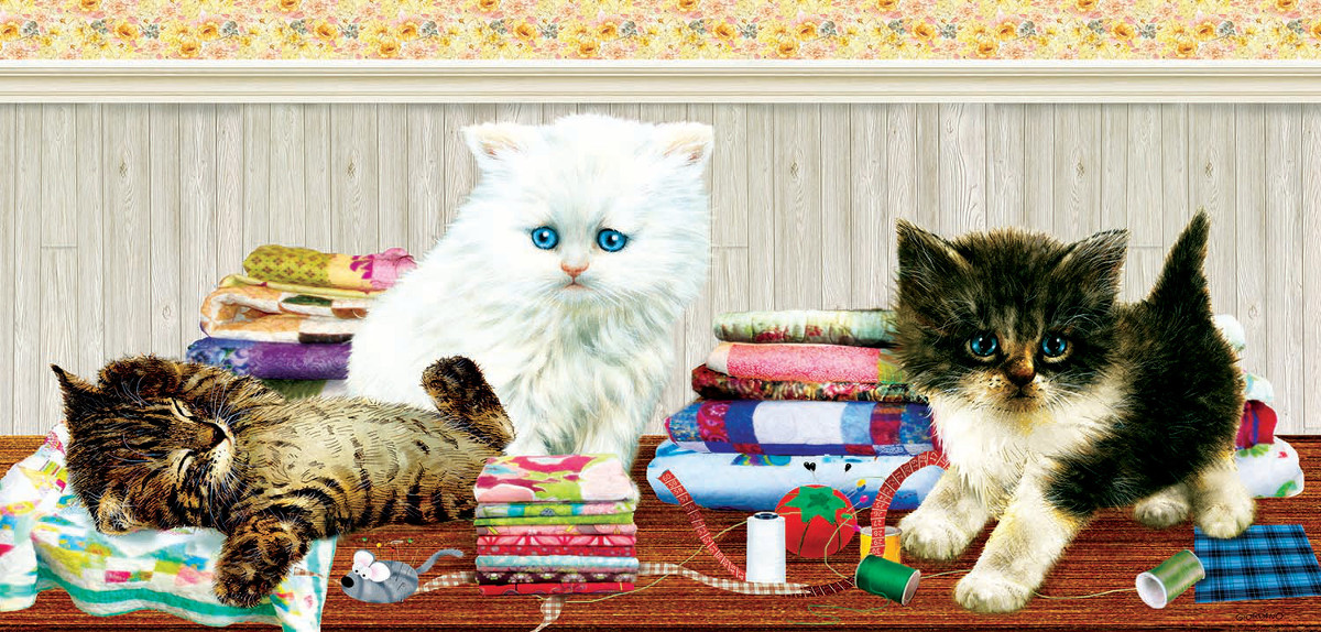 Ready to Help - Scratch and Dent Crafts & Textile Arts Jigsaw Puzzle