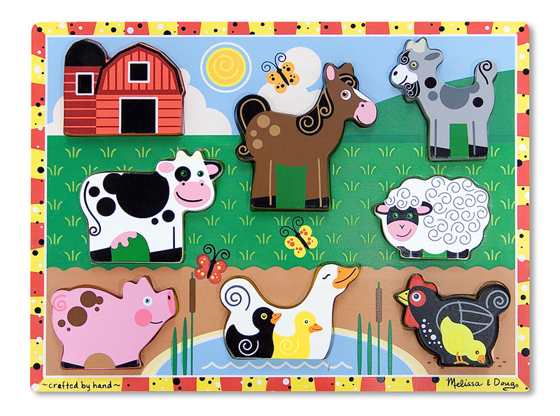 Farm Farm Animals Jigsaw Puzzle