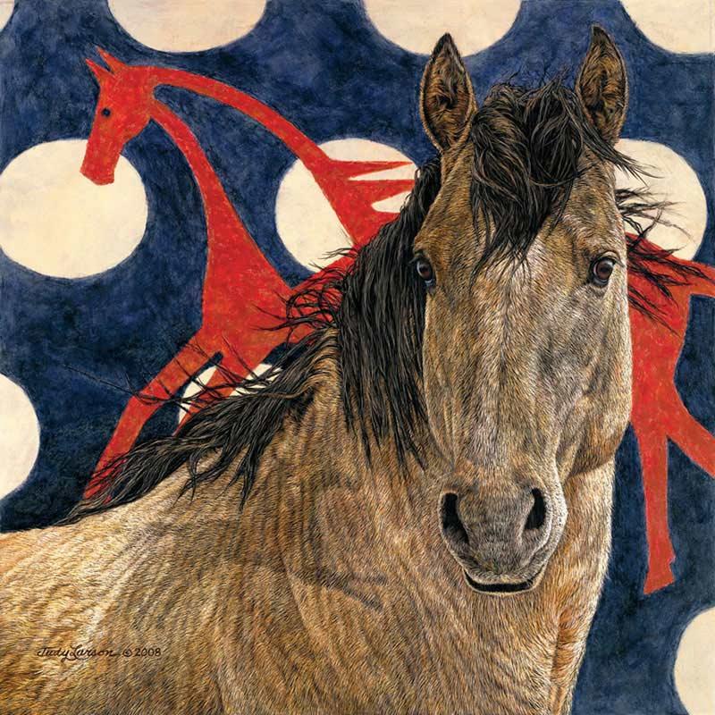 The Horse Tipi Horses Jigsaw Puzzle