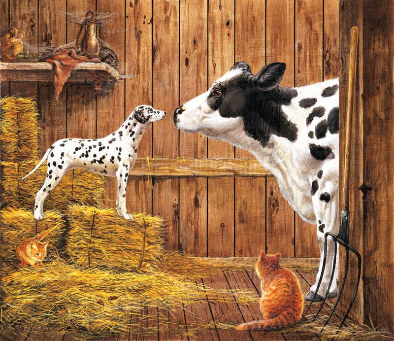 Relations Farm Animals Jigsaw Puzzle