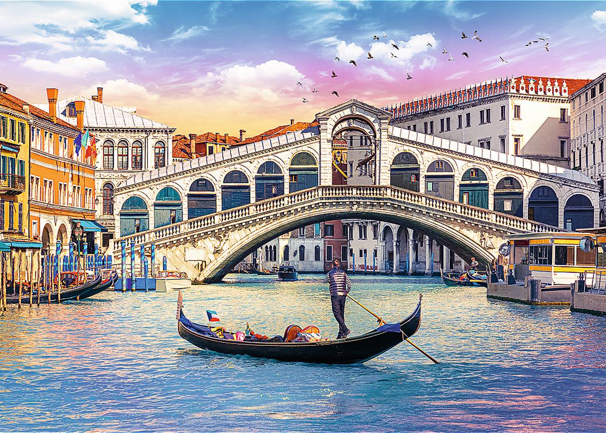 Rialto Bridge, Venice Travel Jigsaw Puzzle