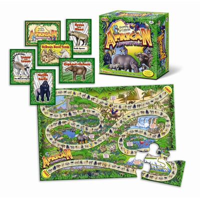 African Adventure Playzzle Jigsaw Puzzle