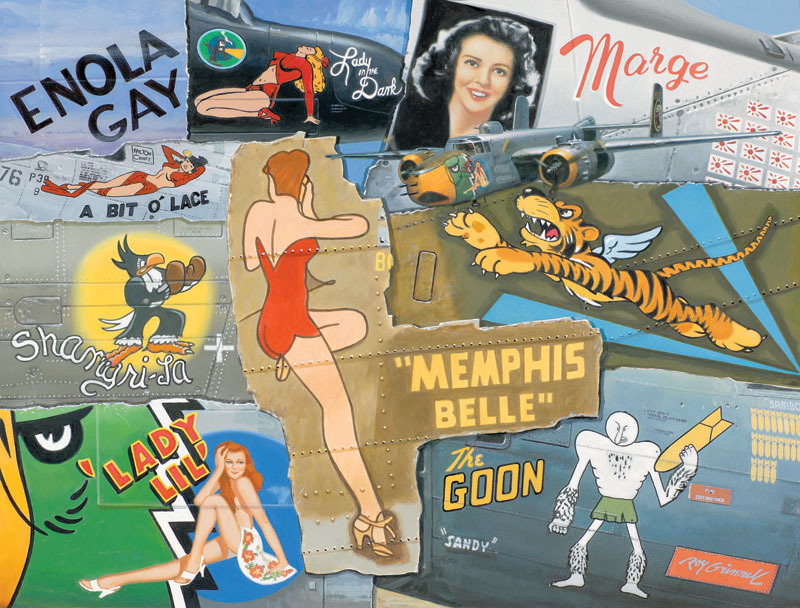 Nose Art Legends of WWII Graphics Jigsaw Puzzle