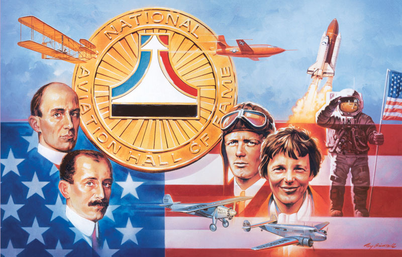 Spirit of Flight Patriotic Jigsaw Puzzle