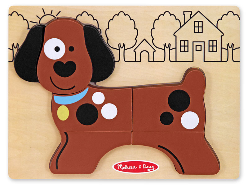 My First Chunky Puzzle - Puppy Dogs Jigsaw Puzzle
