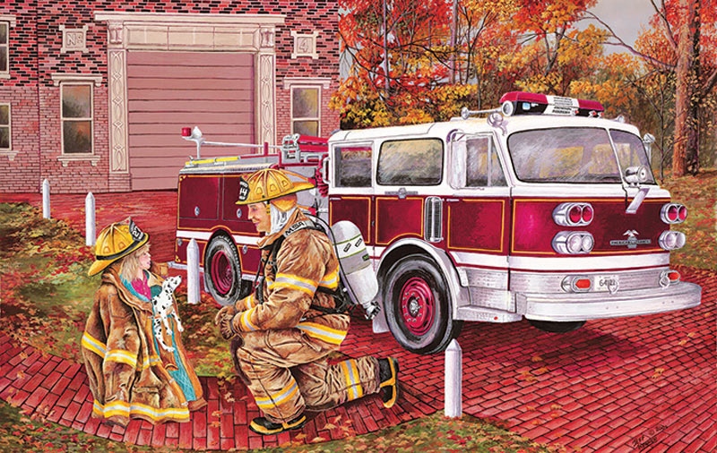 My Dad My Hero Father's Day Jigsaw Puzzle
