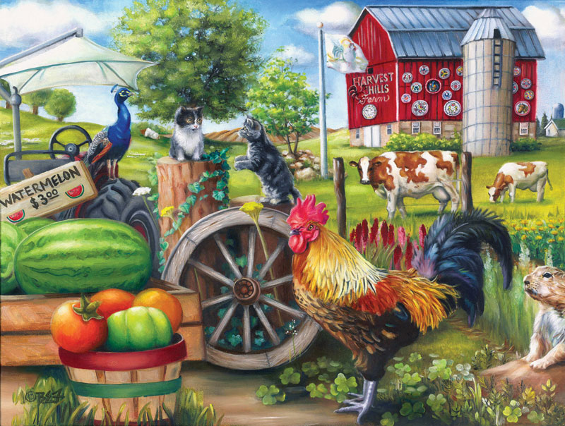 Farm Life - Scratch and Dent Farm Jigsaw Puzzle