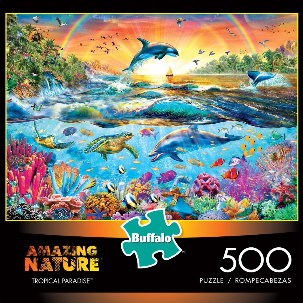 Tropical Paradise (Amazing Nature) Under The Sea Jigsaw Puzzle
