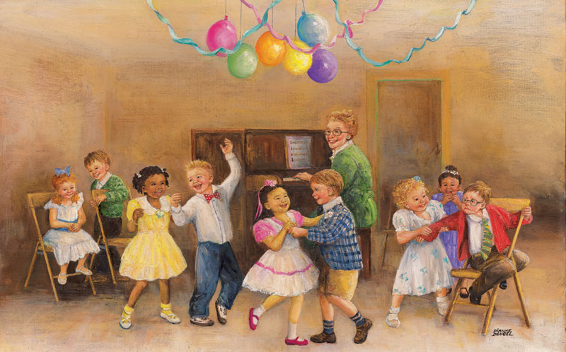 Dance Party People Jigsaw Puzzle