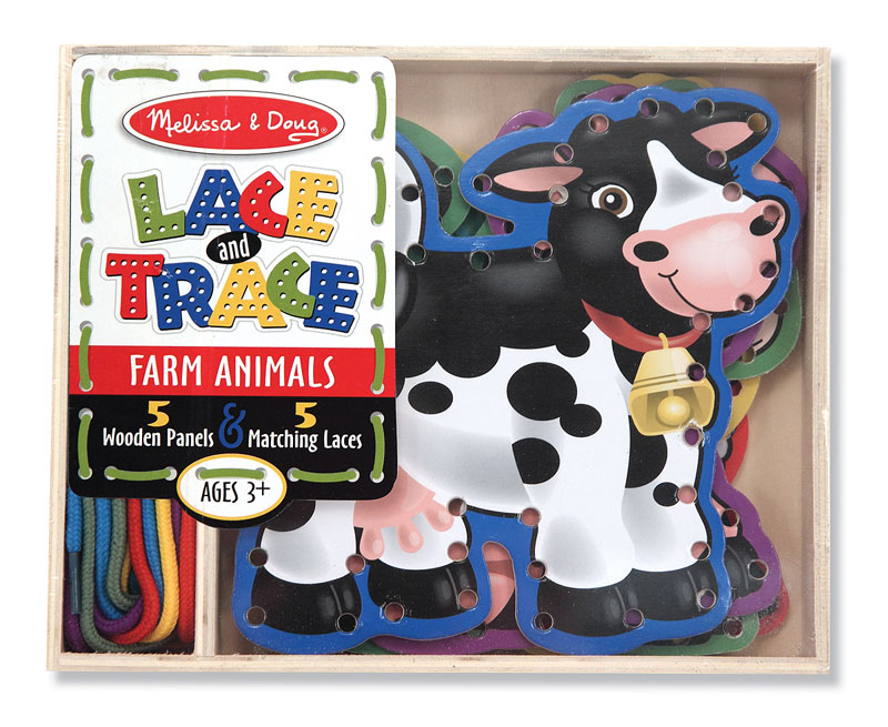 Lace & Trace Farm Toy