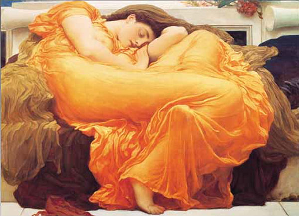 Flaming June Jigsaw Puzzle Puzzlewarehouse Com
