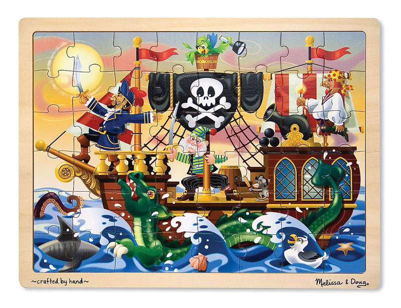 Pirate Adventure Fantasy Children's Puzzles