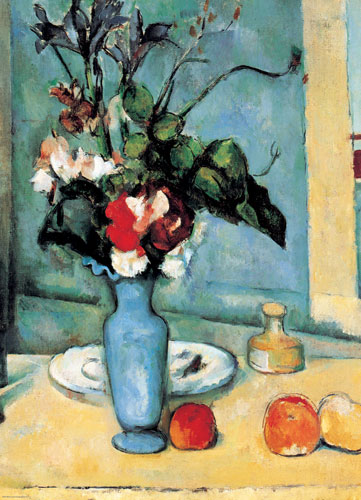 Cezanne - Blue Vase Impressionism Jigsaw Puzzle