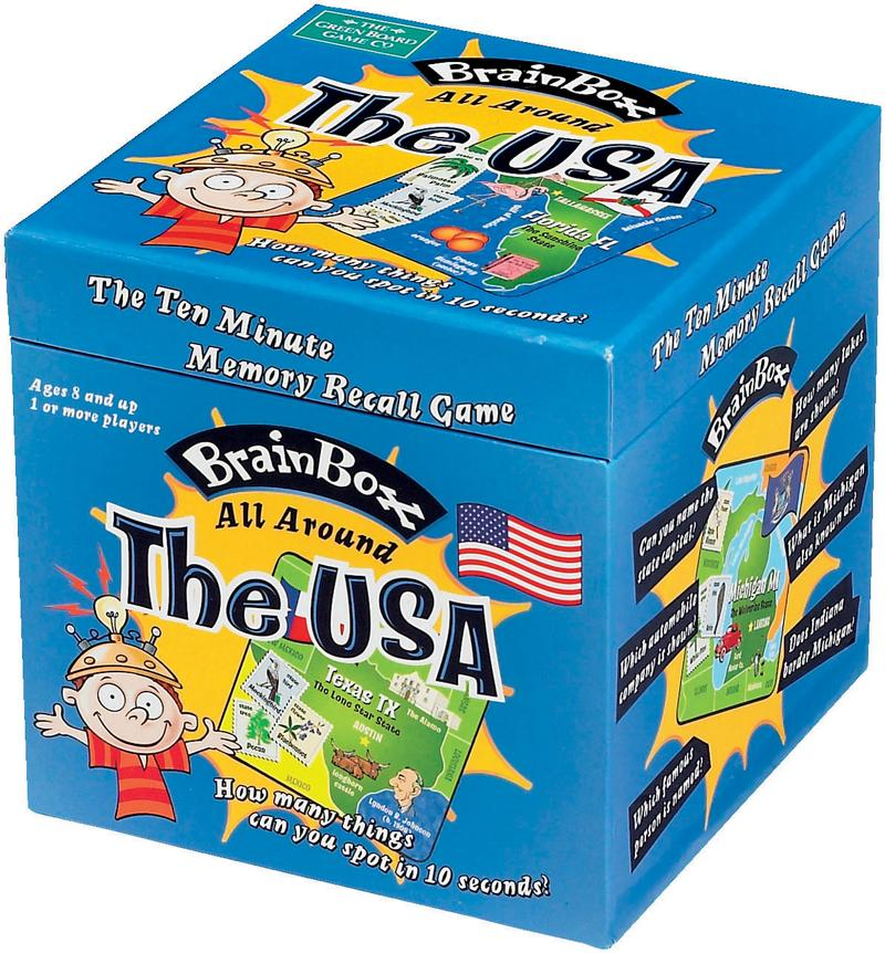 BrainBox - The USA Brain Teaser