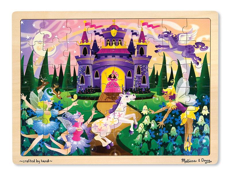 Fairy Fantasy Castles Jigsaw Puzzle