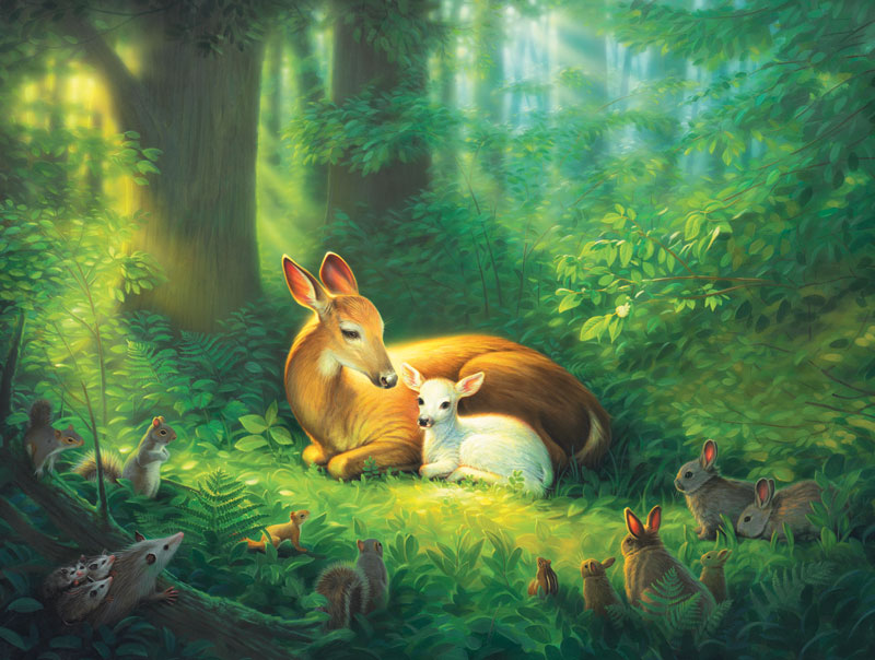 Precious Forest Jigsaw Puzzle