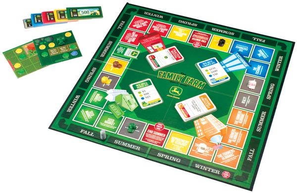 John Deere Family Farm Board Game Strategy/Logic Games