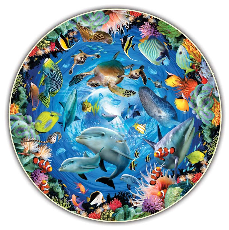 Ocean 360 Under The Sea Shaped Puzzle