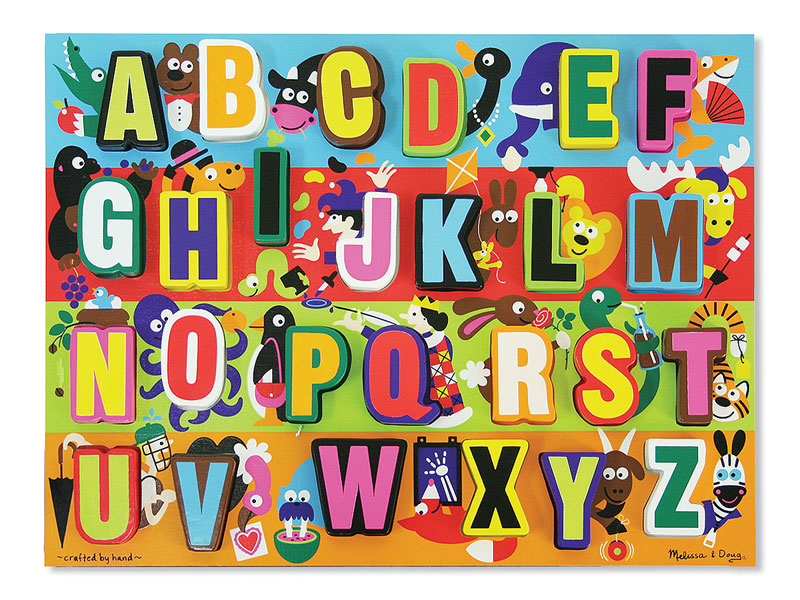 Jumbo ABC Educational Jigsaw Puzzle