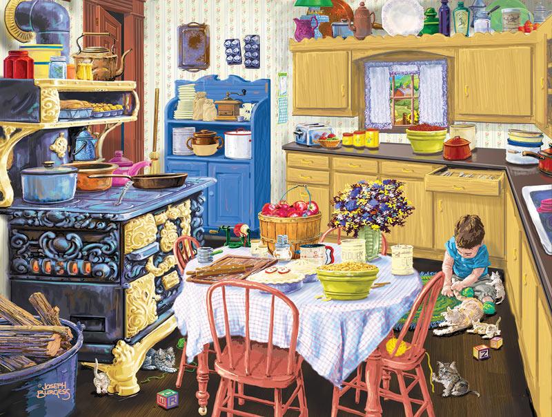 Nana\'s Kitchen Jigsaw Puzzle | PuzzleWarehouse.com