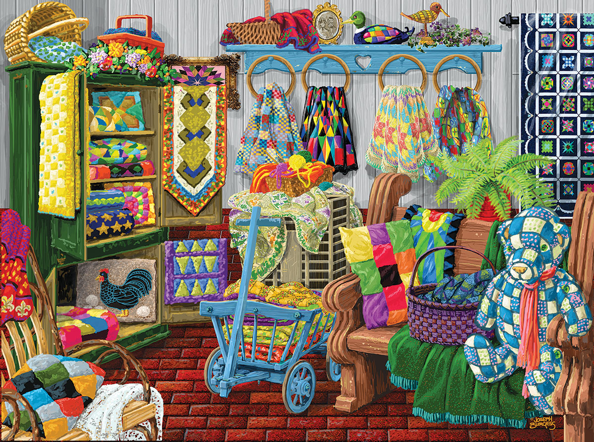 The Quilt Fair Crafts & Textile Arts Jigsaw Puzzle