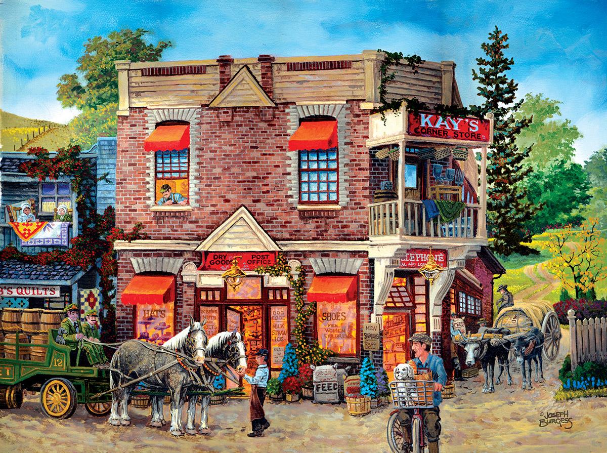 Kay's General Store - Scratch and Dent Nostalgic / Retro Jigsaw Puzzle
