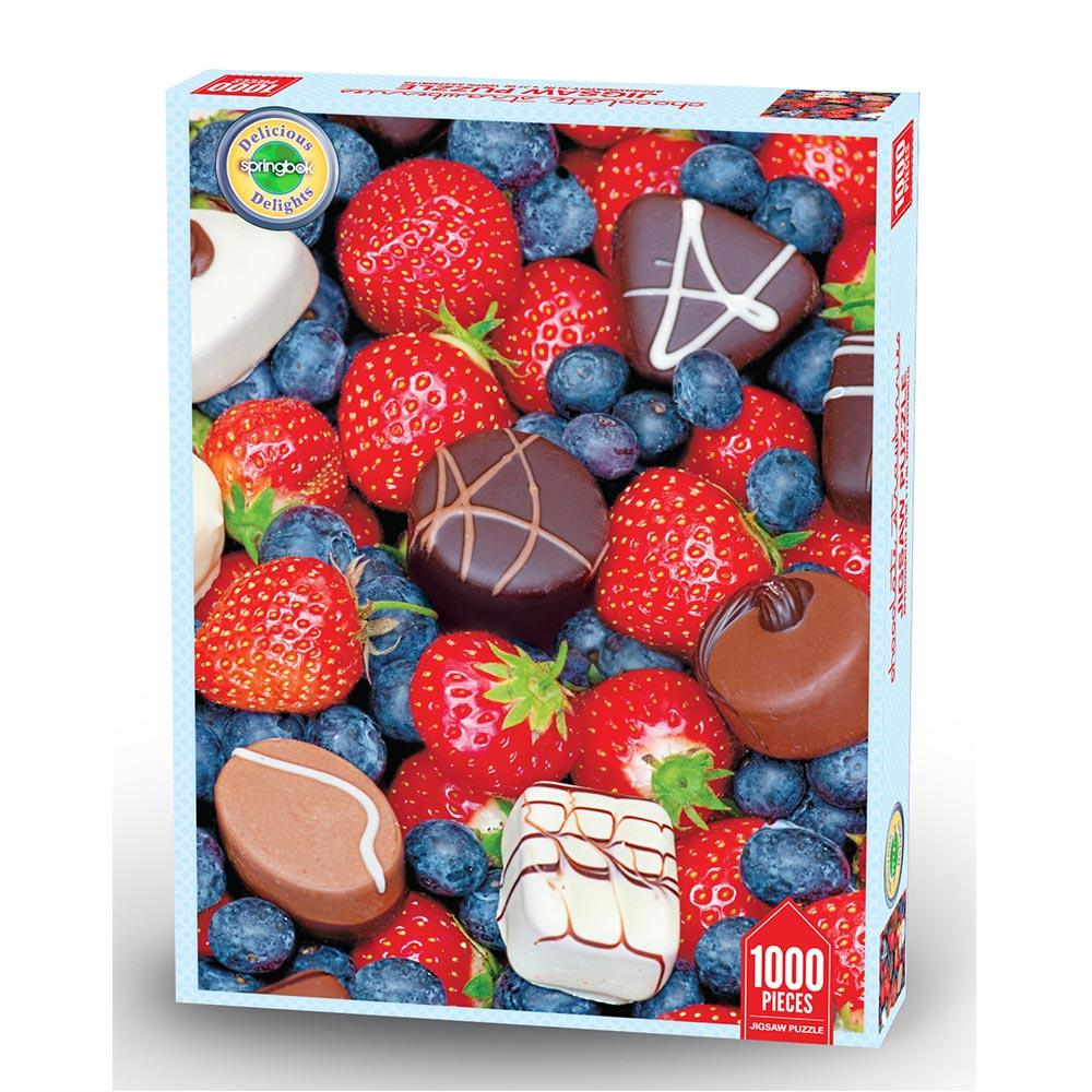 Chocolate Strawberries Food and Drink Jigsaw Puzzle