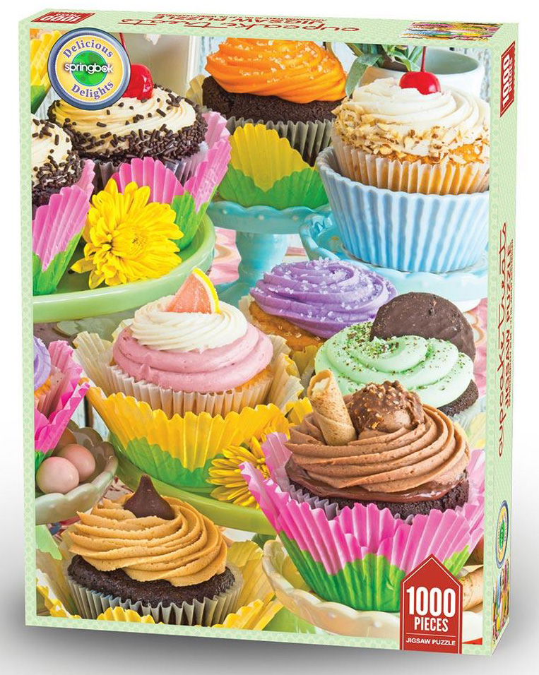 Cupcake Treats Food and Drink Jigsaw Puzzle