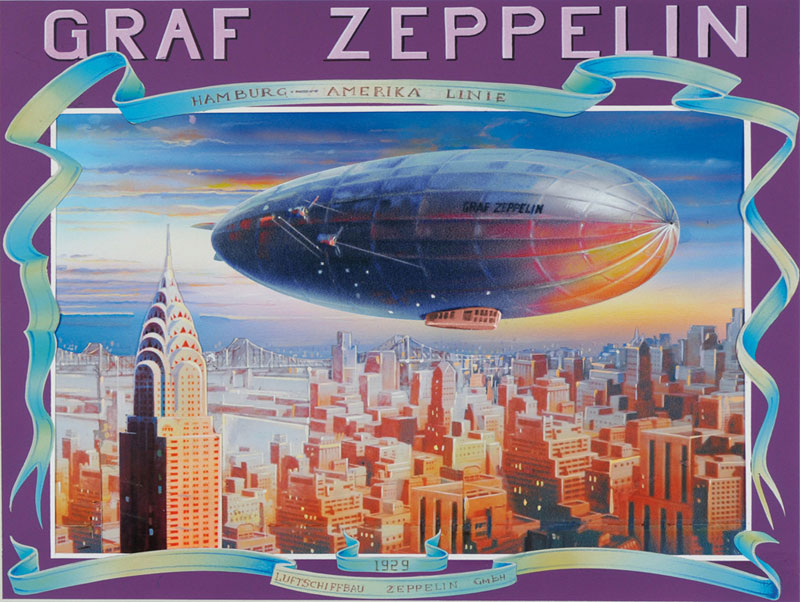 Zeppelin New York Jigsaw Puzzle