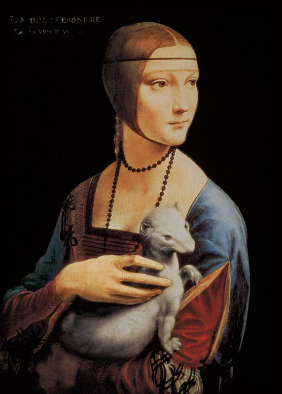 DaVinci Lady Renaissance Jigsaw Puzzle