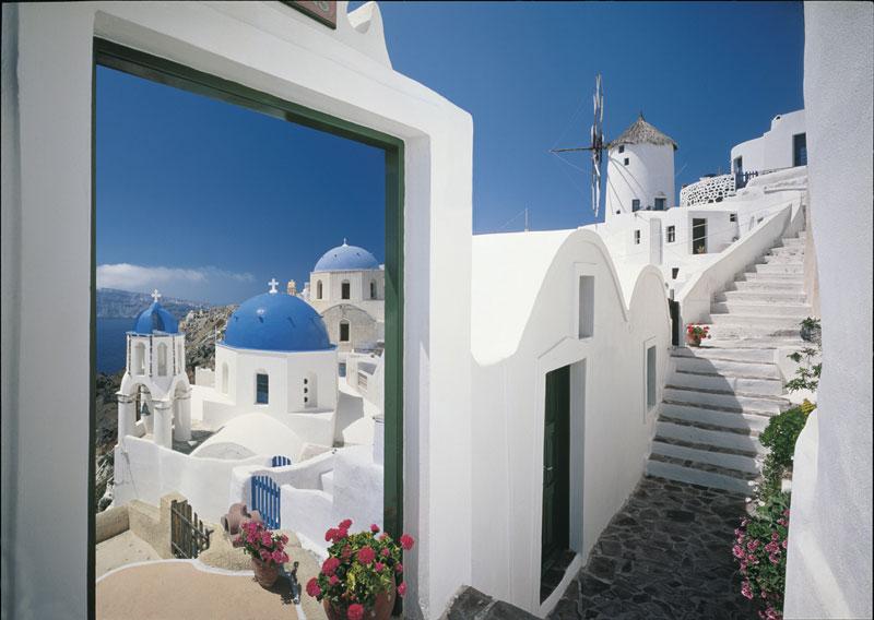 Greece Travel Jigsaw Puzzle