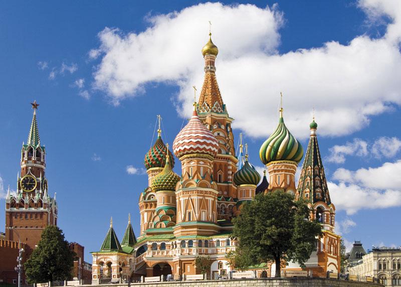 Moscow Landmarks Jigsaw Puzzle