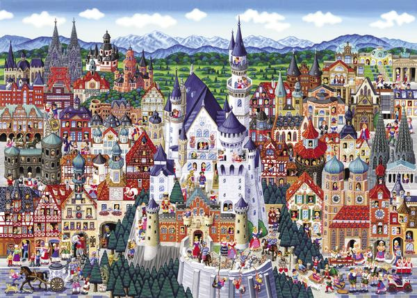 Germany Castles Jigsaw Puzzle