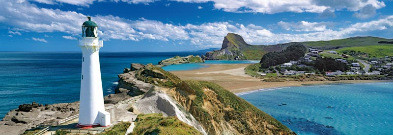 New Zealand (Panorama) HQC - Scratch and Dent Travel Jigsaw Puzzle