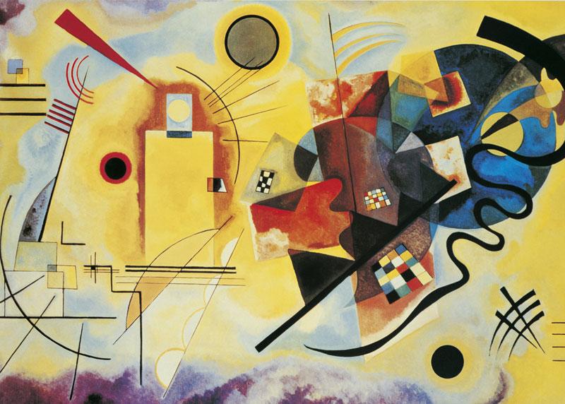 Kandinsky Abstract Jigsaw Puzzle