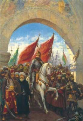 Entering Constantinople Fine Art Jigsaw Puzzle
