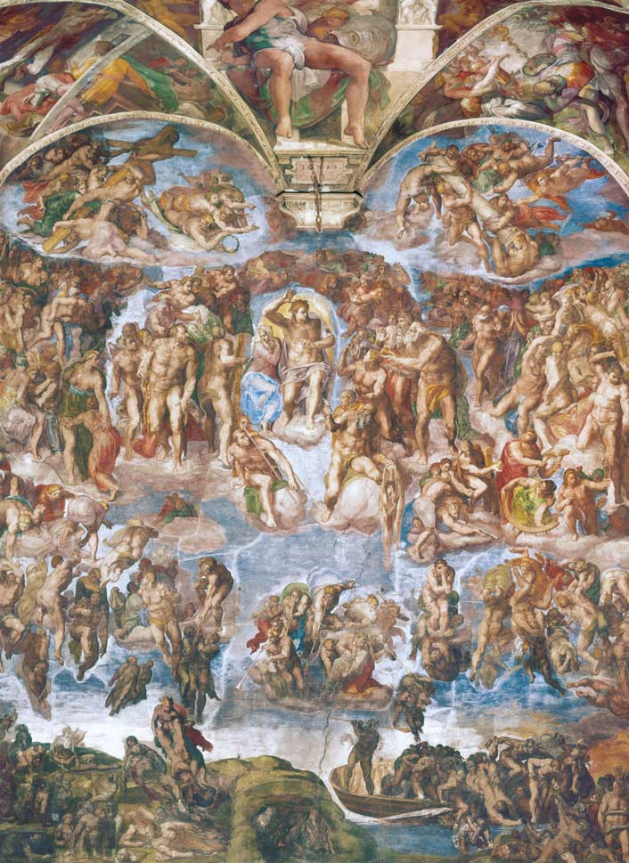 Universal Judgment Churches Jigsaw Puzzle