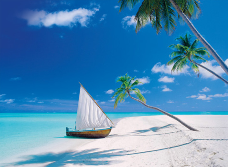 Maldive Islands - Scratch and Dent Beach Jigsaw Puzzle